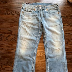 True Religion Ricky Super T  Jeans 36 x 29